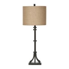 Sonoma Dark Iron Table Lamp