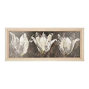 Abstract Tulip Framed Art Print