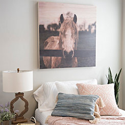 Photographic Horse Wood Art Print