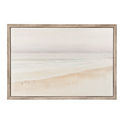 Serene Seaside Framed Art Print