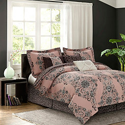 Blush Bella 7-pc. Queen Comforter Set