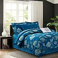 Teal Jackson 7-pc. Queen Comforter Set