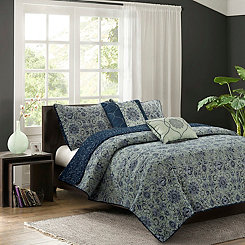 Sage Baum 5-pc. Full/Queen Quilt Set