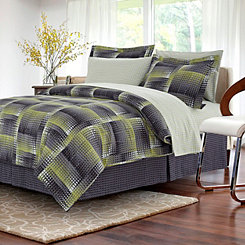Lime Sanoma 8-pc. Queen Comforter Set