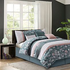 Blush Hays 7-pc. Queen Comforter Set