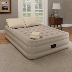 Taupe Twin Air Mattress 7-pc. Set