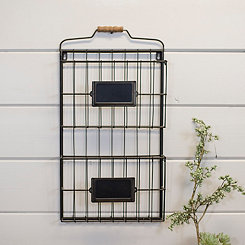 Double Metal Wall File Holder