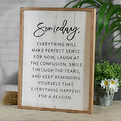 Someday Wood Wall Plaque