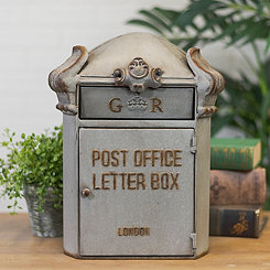 Vintage Metal Mail Box