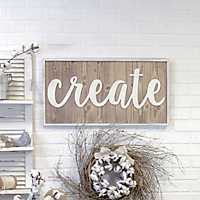 Create Wood Plaque