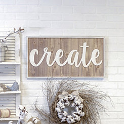 Create Wood Plaque