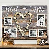 5-Opening Wooden You and Me Collage Frame