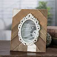 Laurie Natural Wood Picture Frame, 5x7