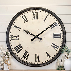 Neal Metal Rustic Wall Clock