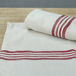 Red Farmhouse Table Runner
