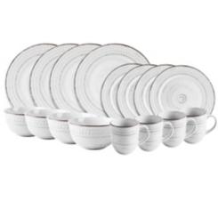 White Cosenza 16-pc. Dinnerware Set