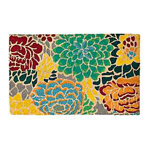 Allover Floral Doormat