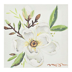 Lone Magnolia Canvas Art Print