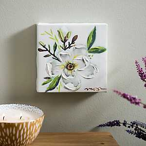 Lone Magnolia Canvas Art Print