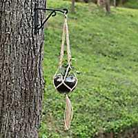 Macrame Hanging Glass Planter