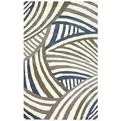 Contemporary Stripe Area Rug, 8x10