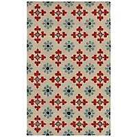 Opus Floral Tile Area Rug, 5x8