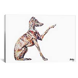 Italian Greyhound Canvas Art Print