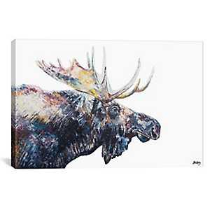 Jed Moose Canvas Art Print