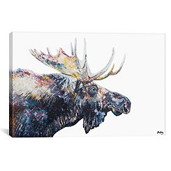 Jed Moose Canvas Art Print