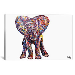 Caper Elephant Canvas Art Print