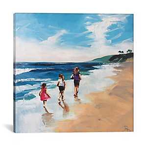 Seaside Memories Canvas Art Print
