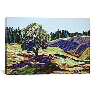 Green Grass Canvas Art Print