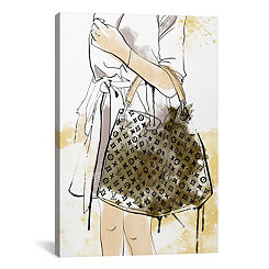 Bags Are My Weakness Canvas Art Print