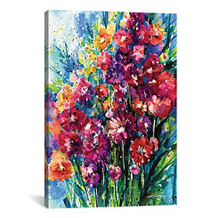 Floral Jubilee Canvas Art Print