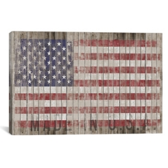American Flag Canvas Art Print