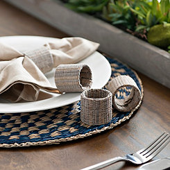 Natural Napkin Rings, Set of 4