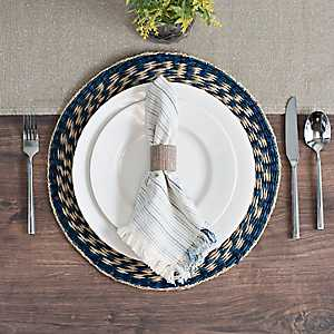 Blue Lotus Seagrass Placemat