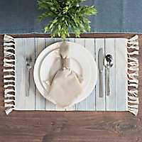 Seaside Ombre Stripe Placemat