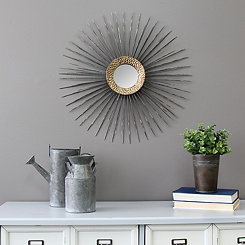 Vanessa Gold Decorative Wall Mirror