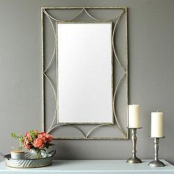 Anastasia Aged Silver Wall Mirror