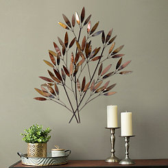 Willow Bouquet Metal Wall Plaque