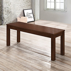 Walnut Wooden Dining Bench