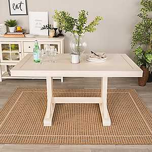 Martina Antique White Dining Table
