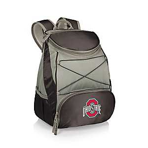 Ohio State Buckeyes Black Cooler Backpack