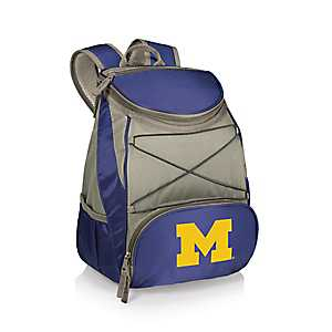 Michigan Wolverines Navy Cooler Backpack