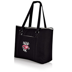 Wisconsin Badgers Black Cooler Tote