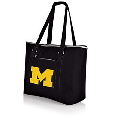 Michigan Wolverines Black Cooler Tote