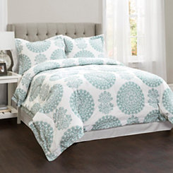 Seafoam Elsa 4-pc Queen Comforter Set