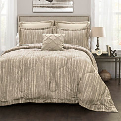 Rustic Stripe 6-pc. Full/Queen Comforter Set