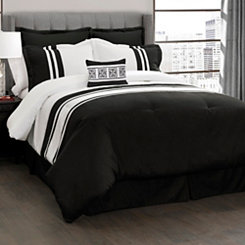 Modern Stripe 6-pc. King Comforter Set